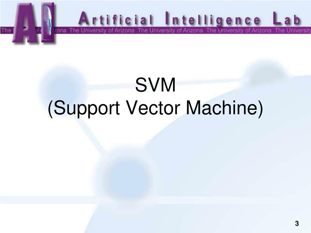 support vector machine software