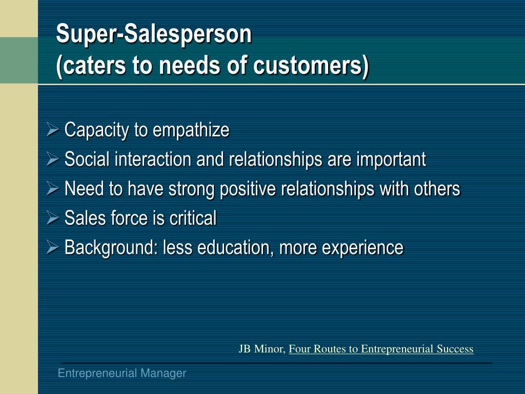 Super-Salesperson