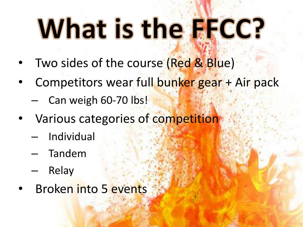 What is the FFCC?