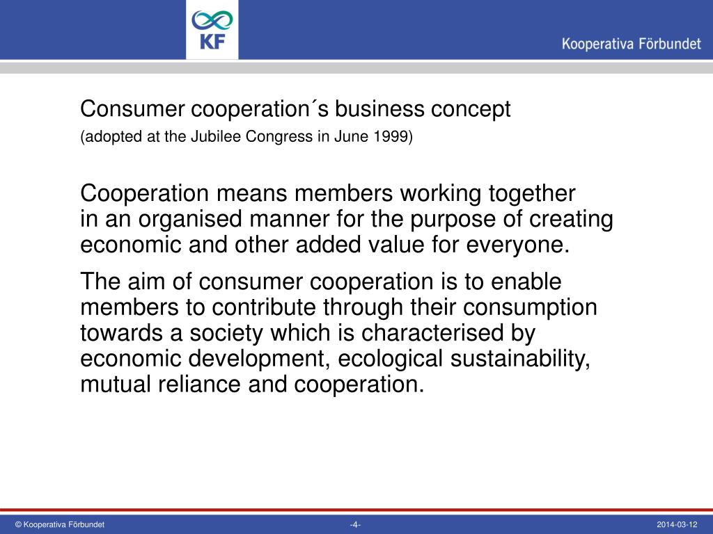 consumers cooperatives