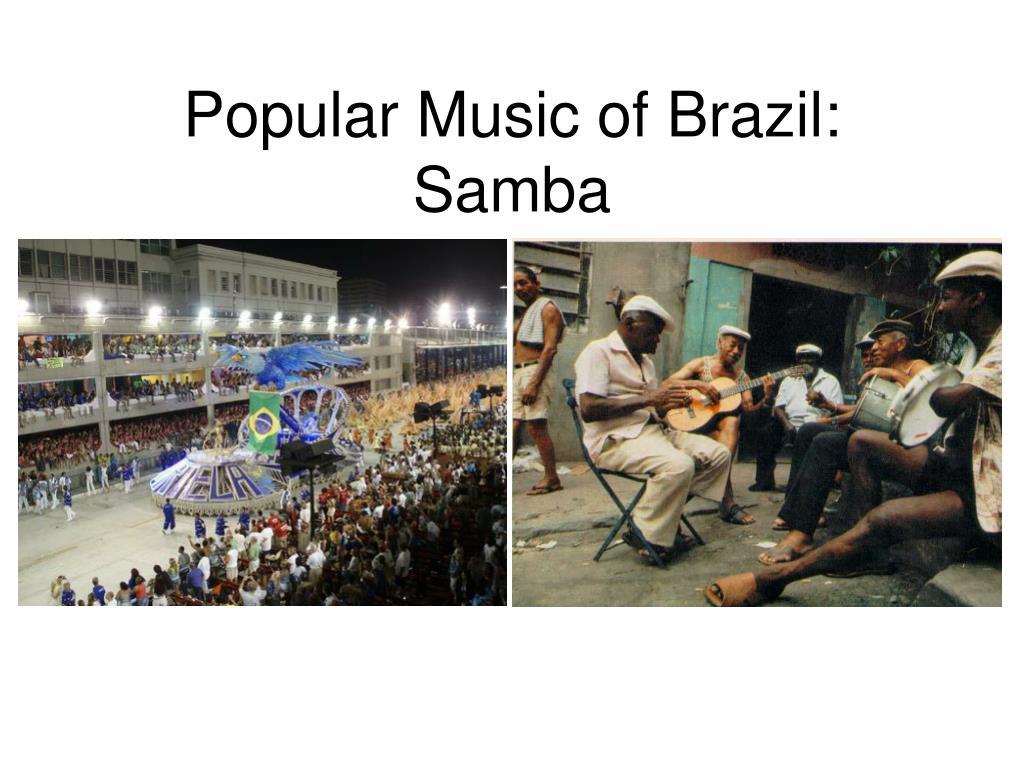 popular music of brazil samba