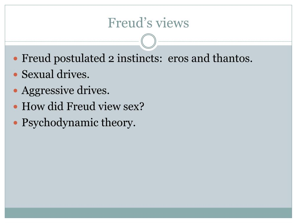 Freud's views