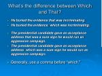 what s the difference between which and that