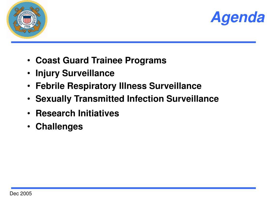Coast Guard Trainee Programs