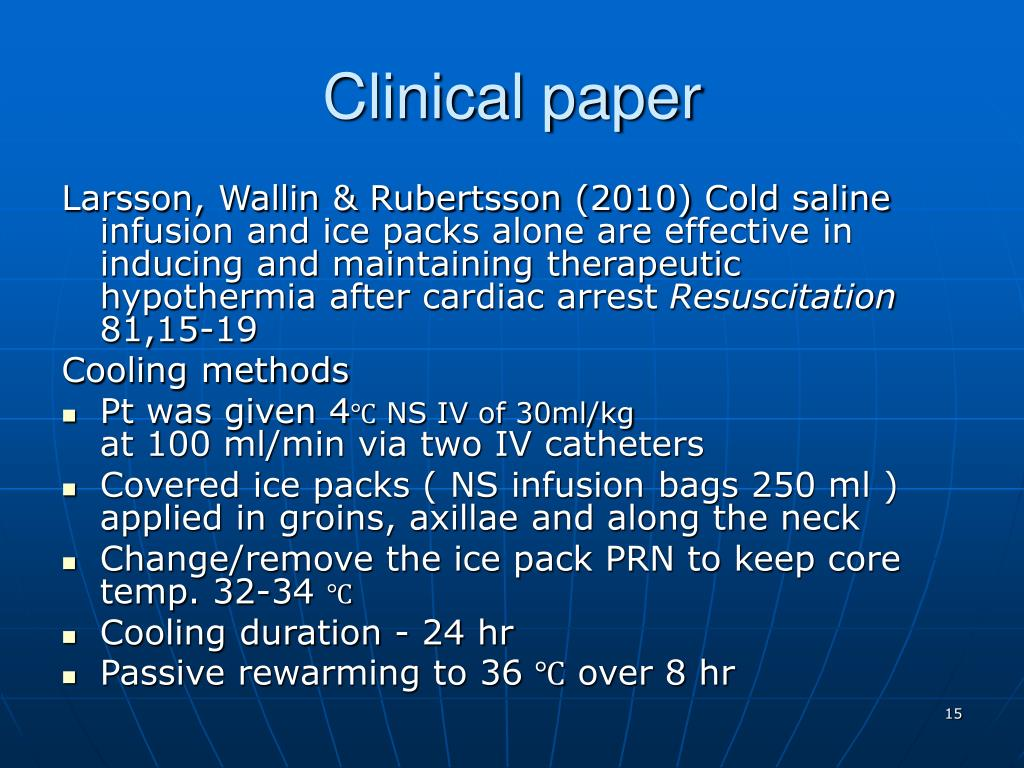 Clinical paper