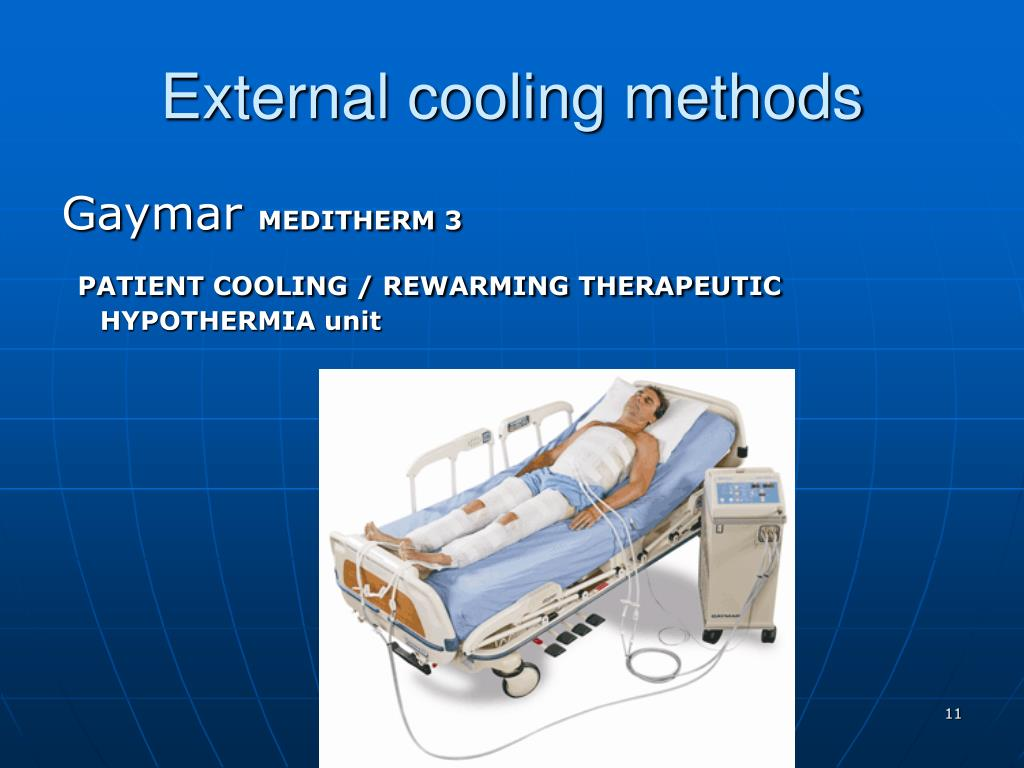 External cooling methods