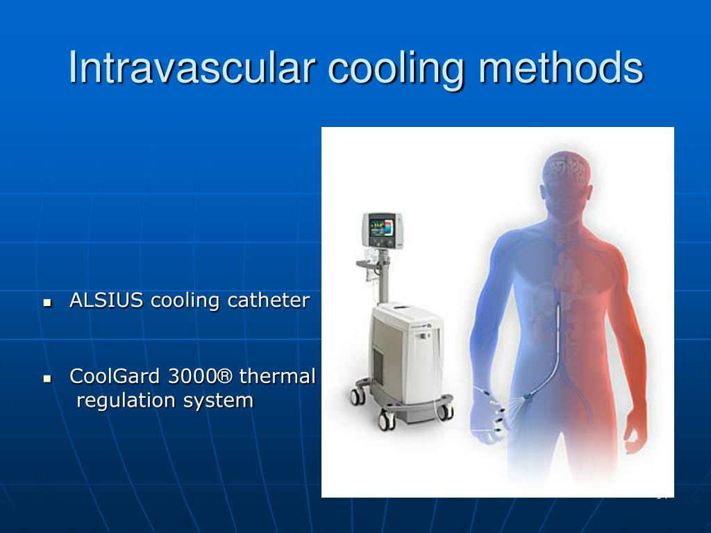 Intravascular cooling
