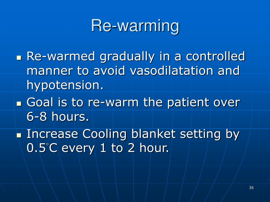Re-warming