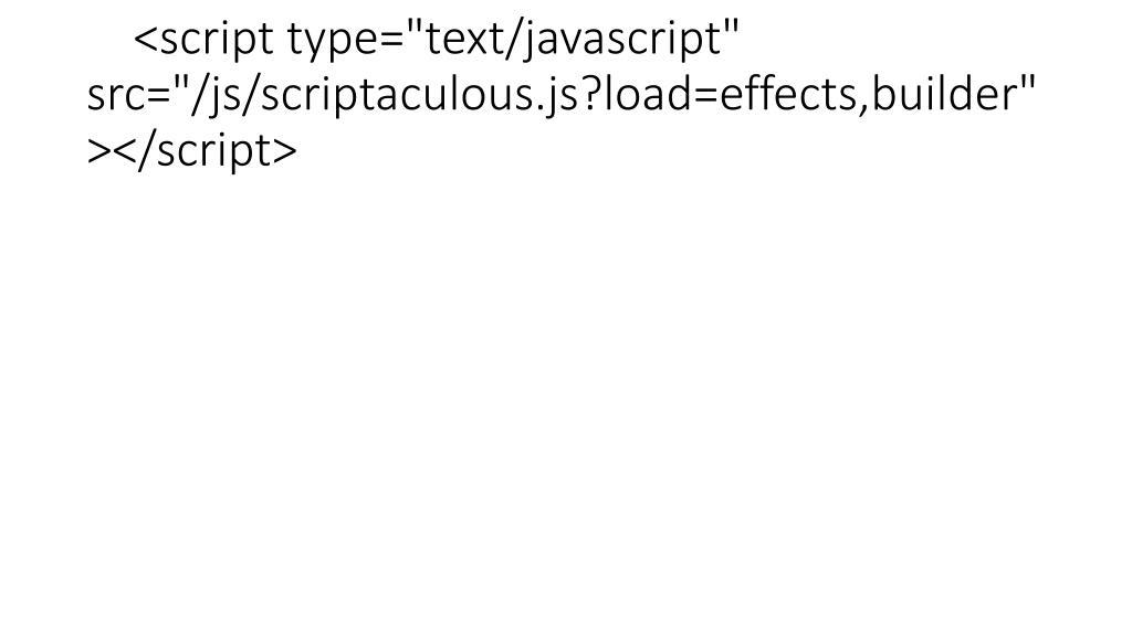 Script type text javascript src images ppt