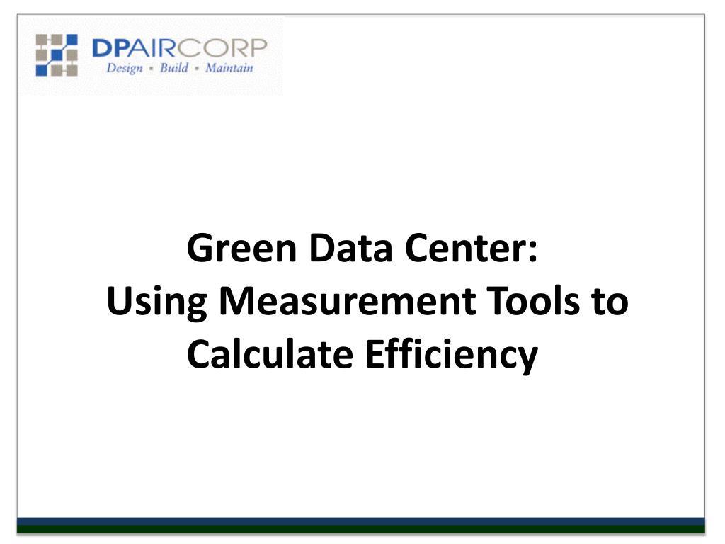 Green Data Center:
