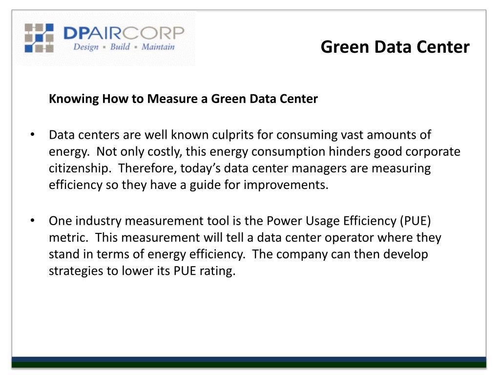 Green Data Center