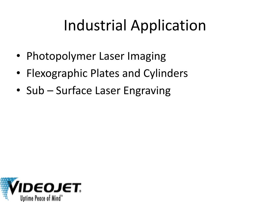 Industrial Application