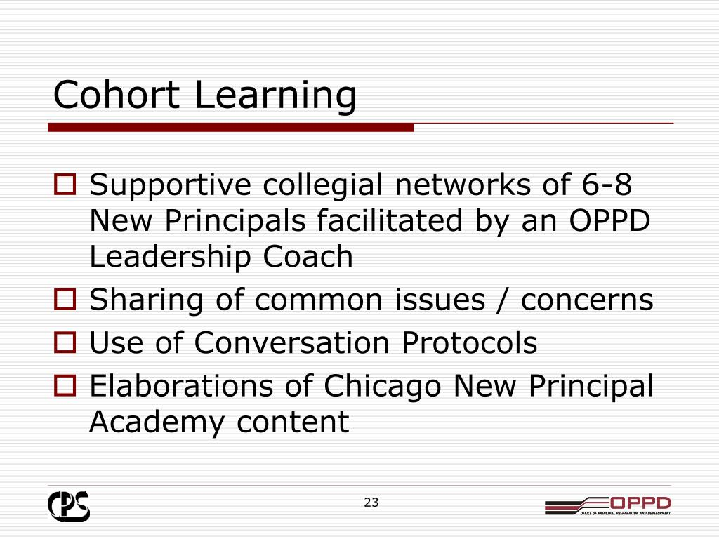 Cohort Learning