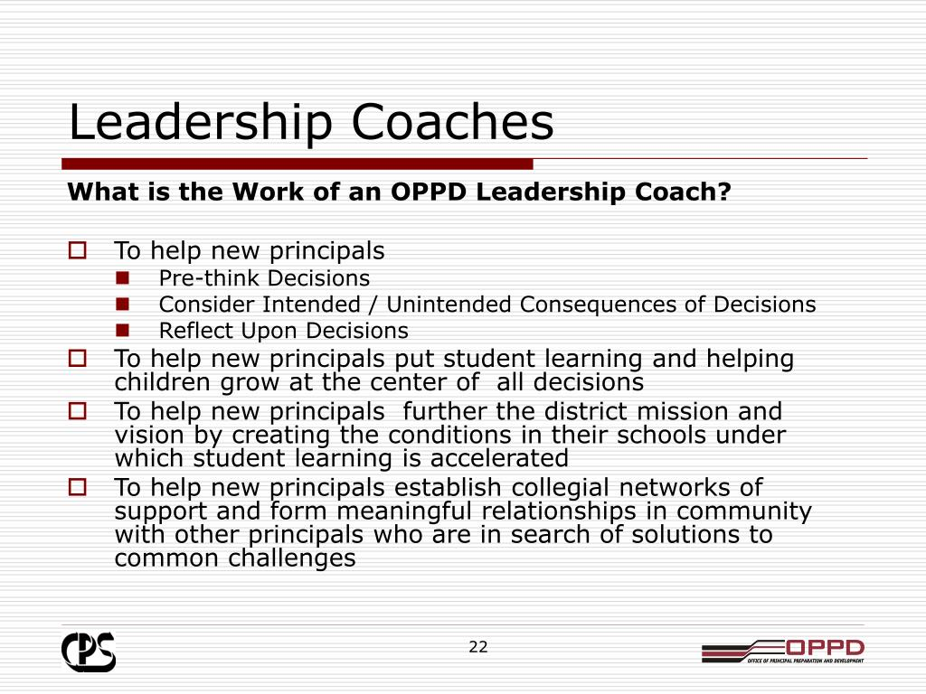 Leadership Coaches