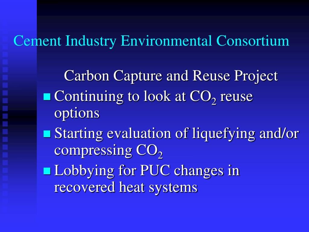 Cement Industry Environmental Consortium