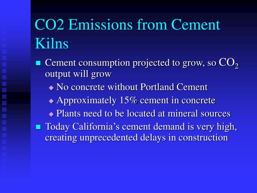 CO2 Emissions from Cement Kilns