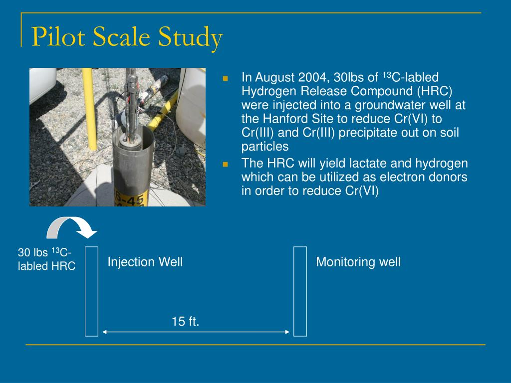 Pilot Scale Study