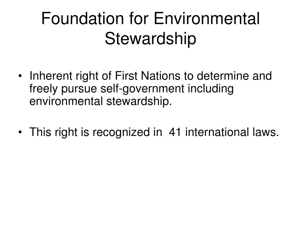 Foundation for Environmental Stewardship