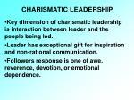 charismatic leadership20