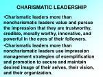 charismatic leadership21