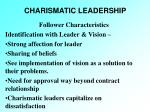 charismatic leadership29