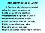 organizational change16