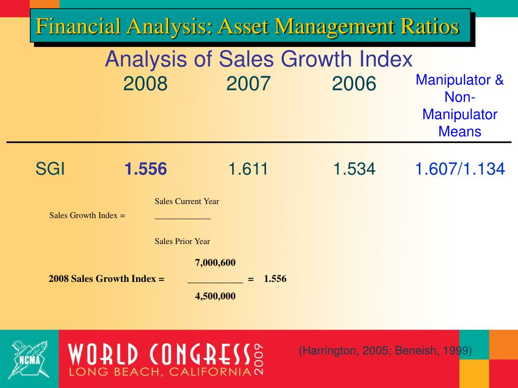 Financial Analysis: Asset Management Ratios