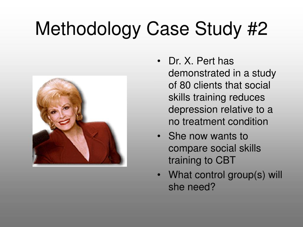 Methodology Case Study #2