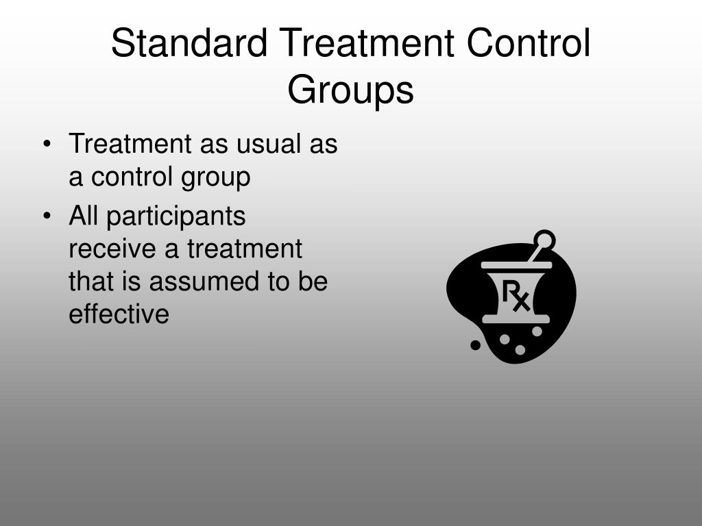 Standard Treatment Control Groups