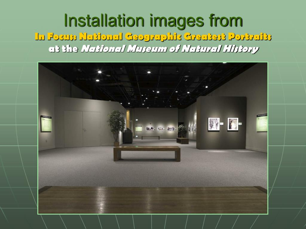 Installation images from