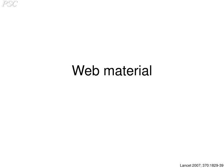 Web material