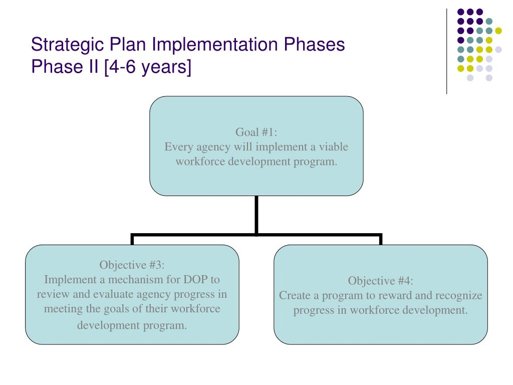 Strategic Plan Implementation Phases