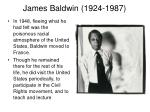 james baldwin 1924 19873
