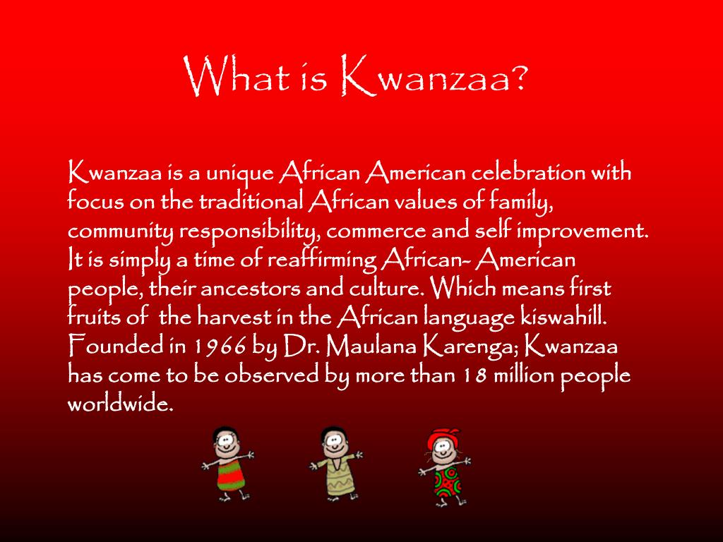 What is Kwanzaa?