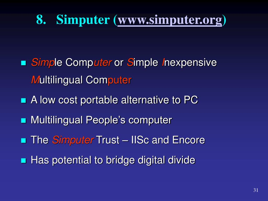 8.Simputer (