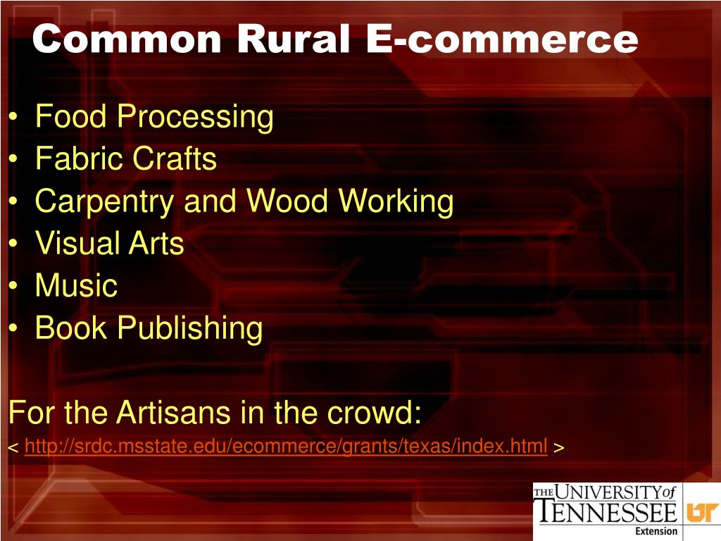 Common Rural E-commerce