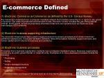 e commerce defined