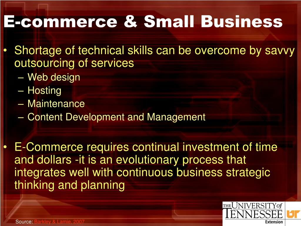 E-commerce & Small Business