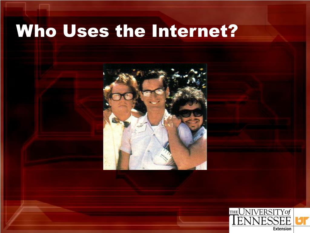 Who Uses the Internet?