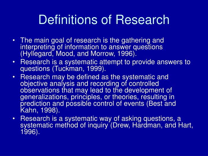 Definitions of research l.jpg