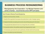 business process reengineering38