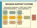 decision support systems14
