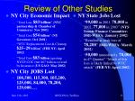 review of other studies