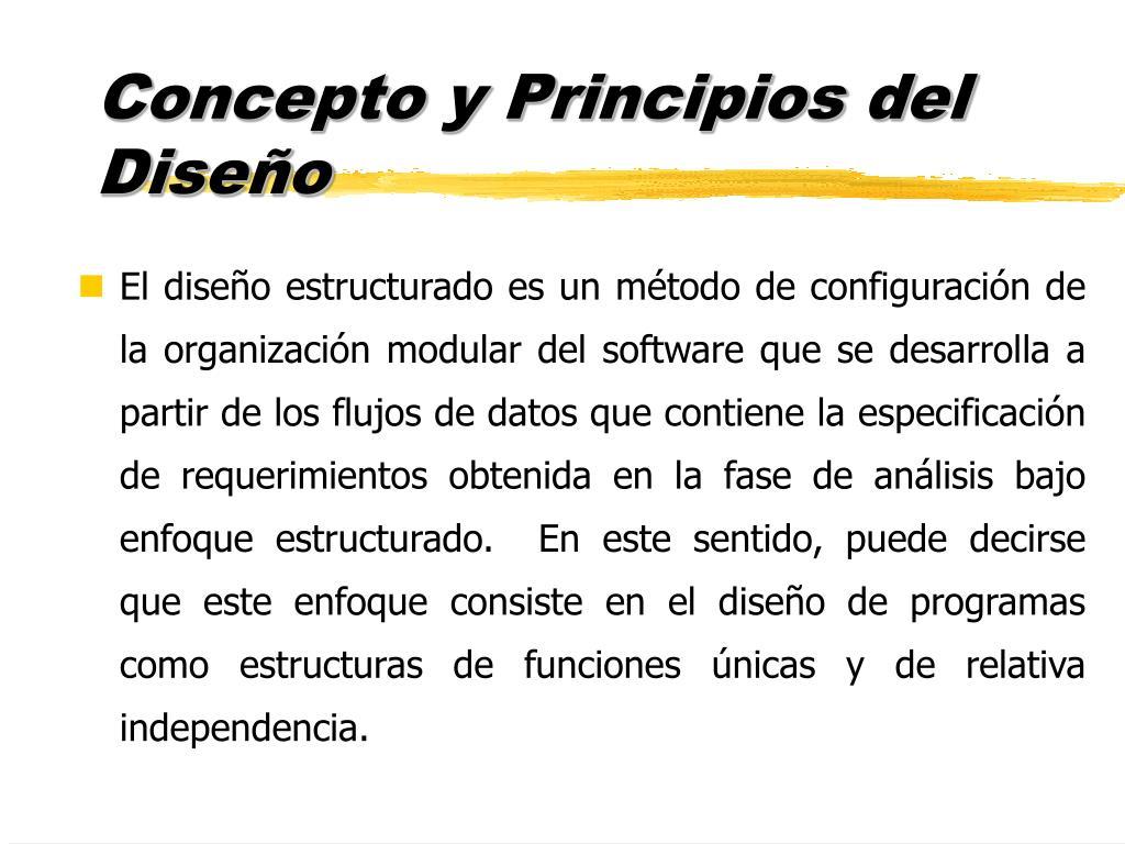 Concepto y Principios del Diseño