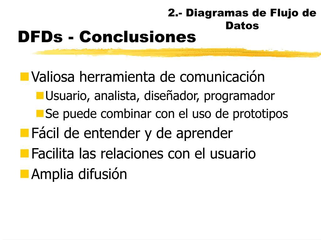 2.- Diagramas de Flujo de Datos