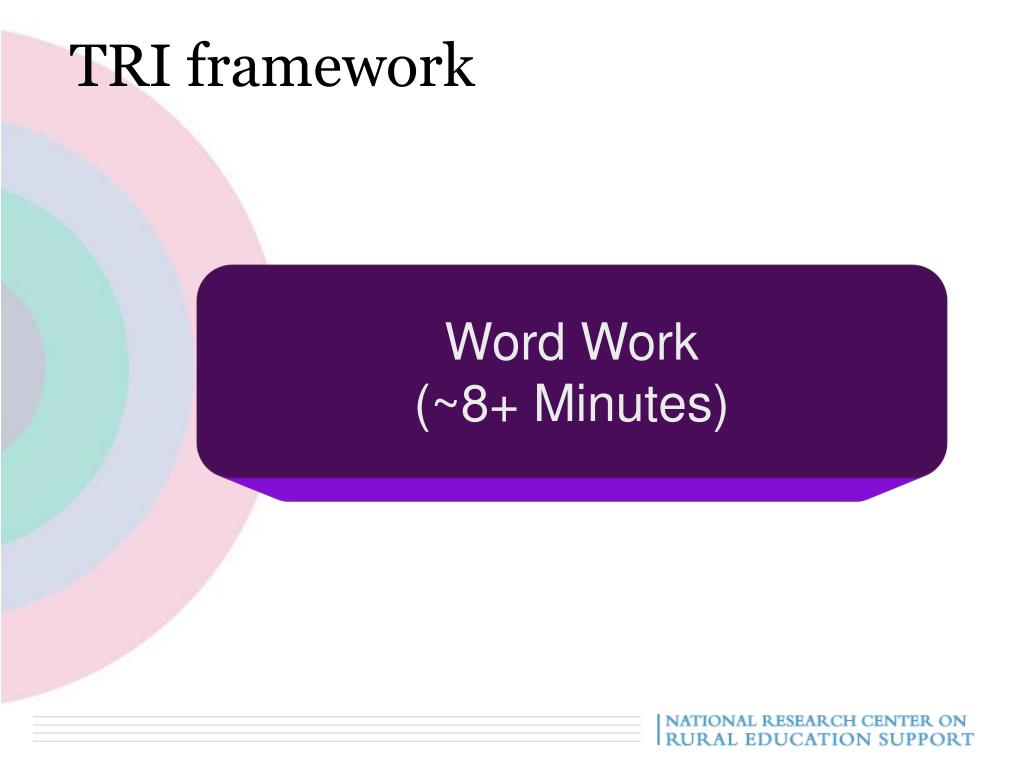 TRI framework