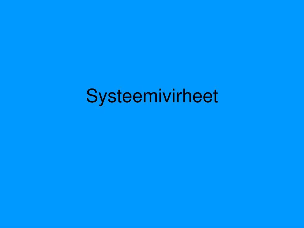 Systeemivirheet