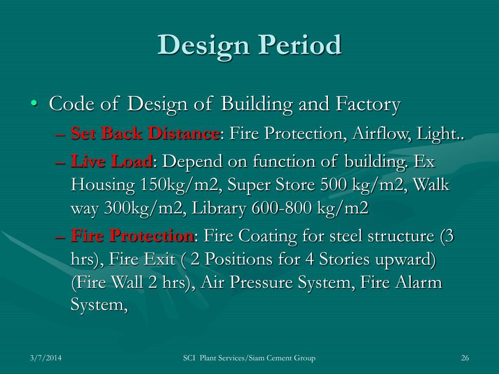 Design Period