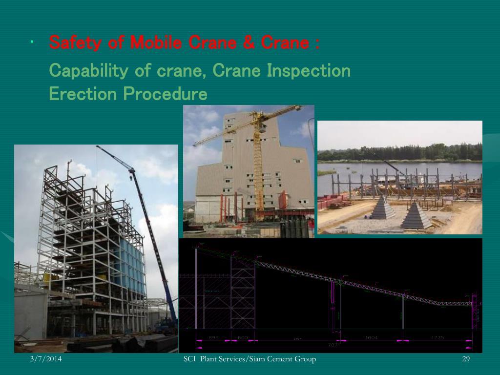 Safety of Mobile Crane & Crane :