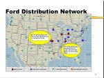 ford distribution network